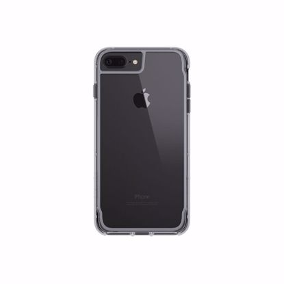 Picture of Griffin Griffin Survivor Clear Case for Apple iPhone 8/7/6s/6 Plus in Space Grey