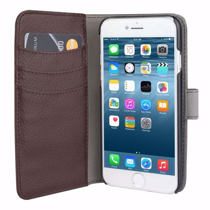 Picture of Redneck Redneck Duo Wallet Folio with Detachable Slim Case for Apple iPhone 6/6s in Brown for Retail