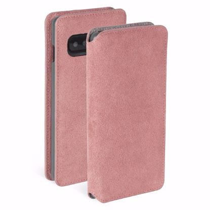 Picture of Krusell Krusell Broby 4 Card Slim Wallet Case for Samsung Galaxy S10 in Pink