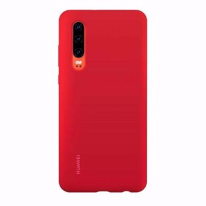 Picture of Huawei Huawei Silicone Protective Cover Case for Huawei P30 in Red