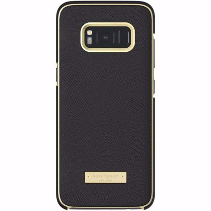 Picture of Kate Spade Kate Spade Wrap Case for Samsung Galaxy S8 in Saffiano Black